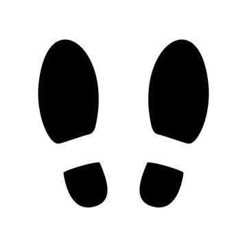 Shoe prints or Footprint icon.
