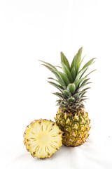 pineapple on isolated background