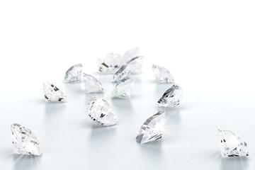 brilliant diamond jewel (high resolution 3D image)