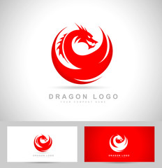 Dragon Logo Vector