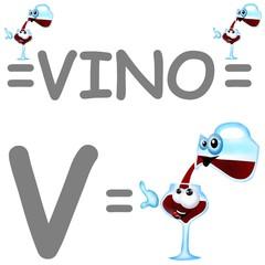 v vino