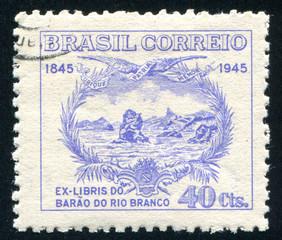 Baron of Rio Branco Bookplate