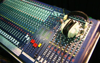 Sound Board, studio audio equipment