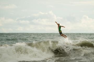 saut en surf