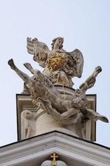 The Fall of the Angels, Mariahilf church in Graz, Austria