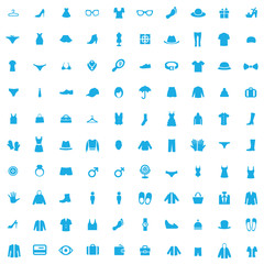 100 clothes icons
