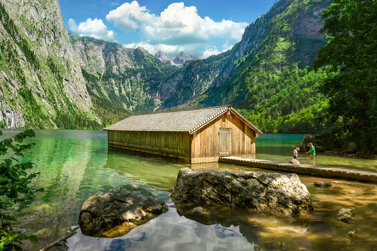 Obersee Boathose, Berchtesgaden