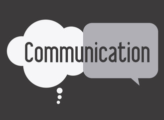 communicate, design, vector illusttration