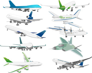 다양한 항공교통