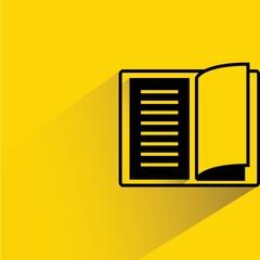 reading concept, open book