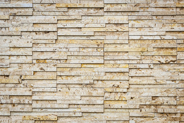 Travertine stone wall texture for background
