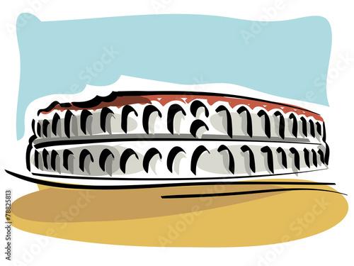 Arena di verona immagini e vettoriali royalty free su for Scarica clipart