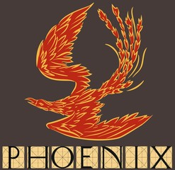 Phoenix with title