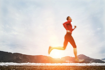 Winter speed runner