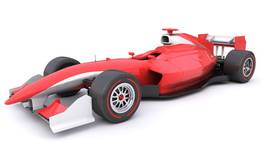 Wall Murals Cars Formula race red car designed by myself
