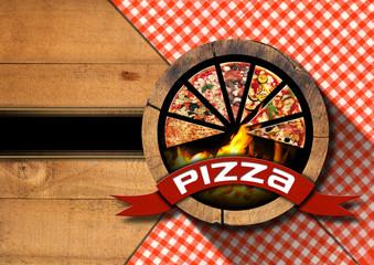 Pizza - Rustic Menu Design