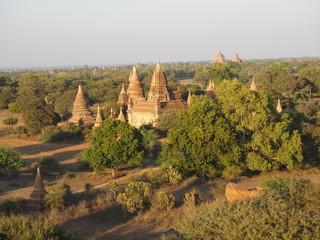 Foto op Aluminium Pagoda budista en Bagan (Myanmar)