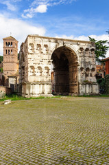 Roma Arco di Giano