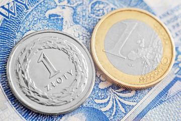 euro & złoty