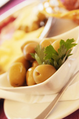 olive as a symbol of healthy and natural food