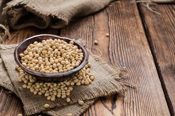 Heap of Soy Beans