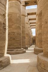 La sala Hipóstila del Templo de Karnak, Luxor.