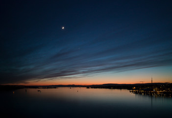 New moon over Oslo