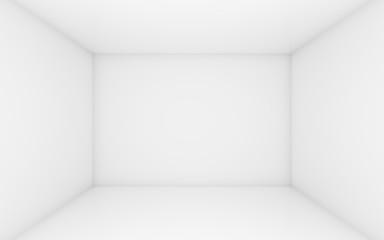 White box with dark edges inside