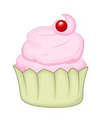 Vector Cupcake Design