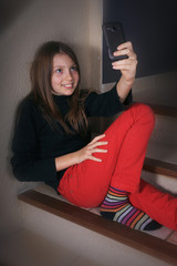 selfie... jeune !