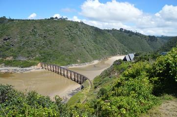 viaduc au dessus de Kaaiman's River afrique du sud