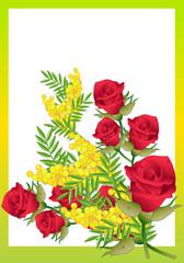 Rose e Mimosa