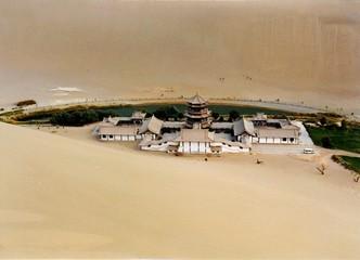 중국 사막풍경