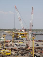 Oil&gas platform.