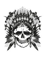Häuptling Skull