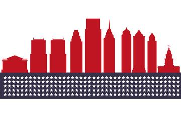 Philadelphia silhouette