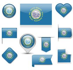 South Dakota Flag Collection