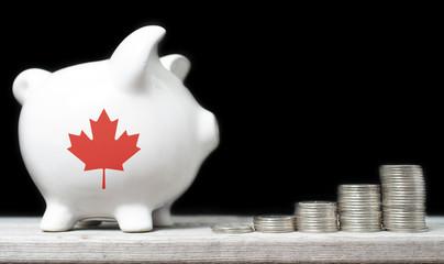 Canadian saving concept