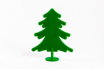 Green Plastic Pine Tree.