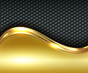 Business gold background,