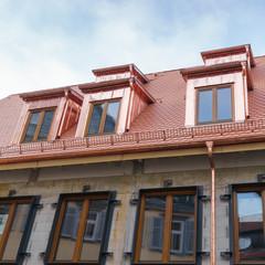 Neues Dach mit Gauben aus Kupferblech