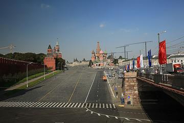 moscow kremlin landscape