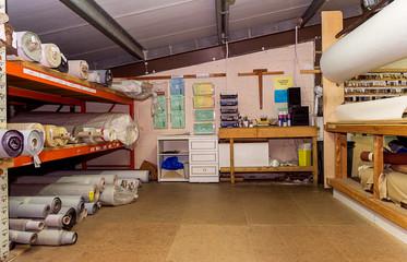 Storage room.