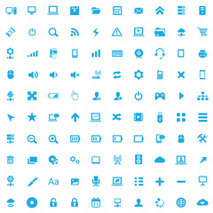 100 computer icons.