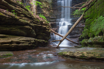 Moss Covered Falls