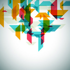 Modern geometrical abstract background.