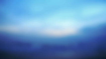 Early Morning Light, Blurred Sunrise Background.