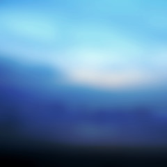 Early Morning Light, Blurred Sunrise Background.