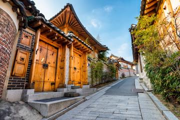Fototapeta premium Bukchon Hanok Village