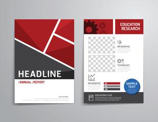 Vector brochure, flyer, magazine cover booklet poster design.
